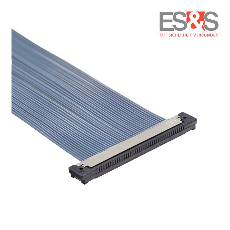 Flexibles Mikrokoaxialkabel KEL-Stecker USLS20 - oben