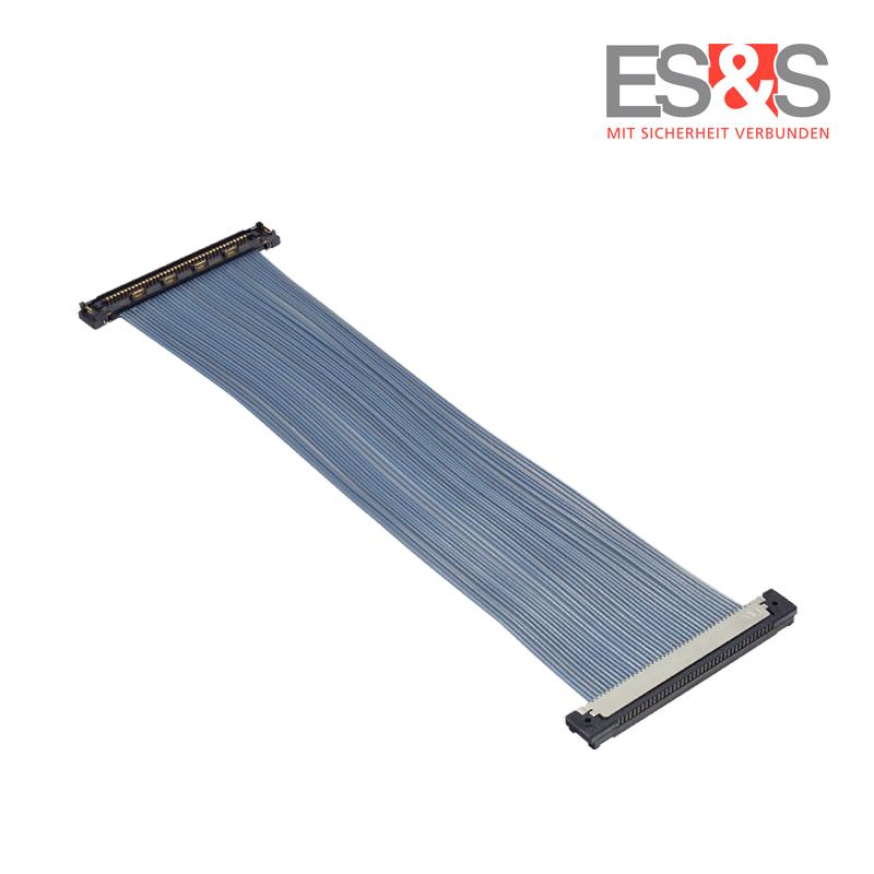Mikrokoaxialkabel KEL-Stecker USLS20