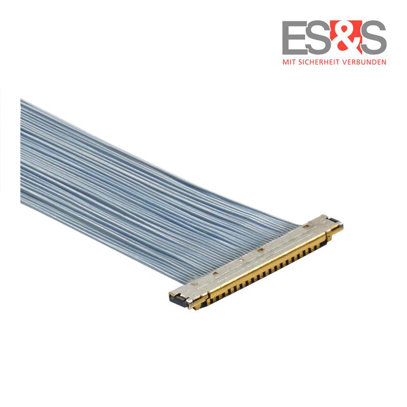 Mikrokoaxialkabel KEL XSLS Steckverbinder