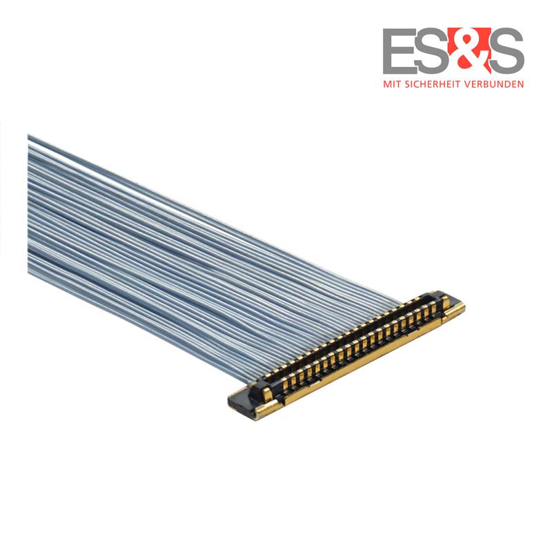 Mikrokoaxialkabel KEL XSLS 40 polig