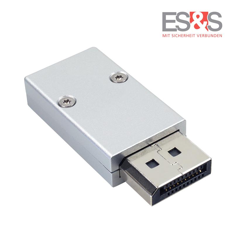DisplayPort™-Stecker unten