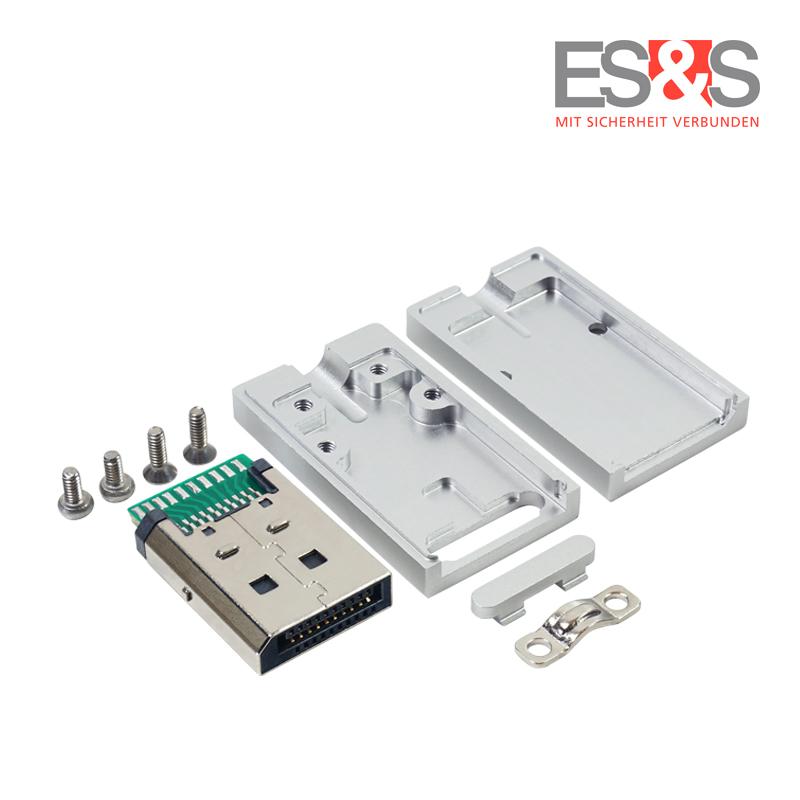 ES&S DisplayPort™-Stecker Bausatz