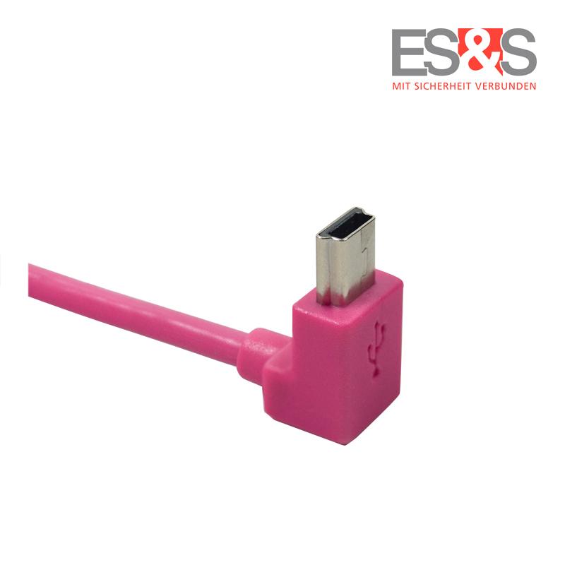 USB 2.0 Mini Typ B Pink